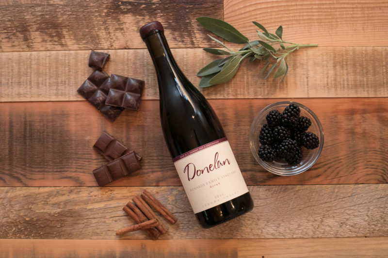 Donelan Wines Richards Family Vineyard Syrah